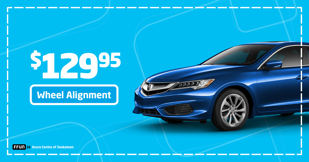 $129.95 Wheel Alignment