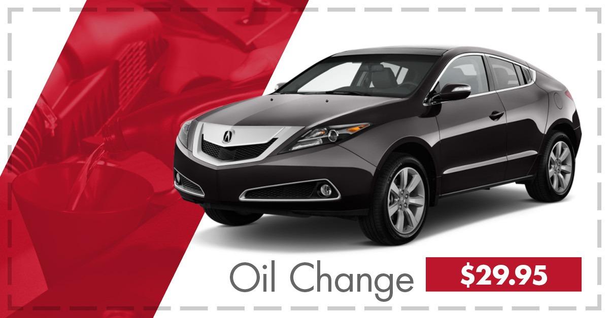 Oil Change $29.95!