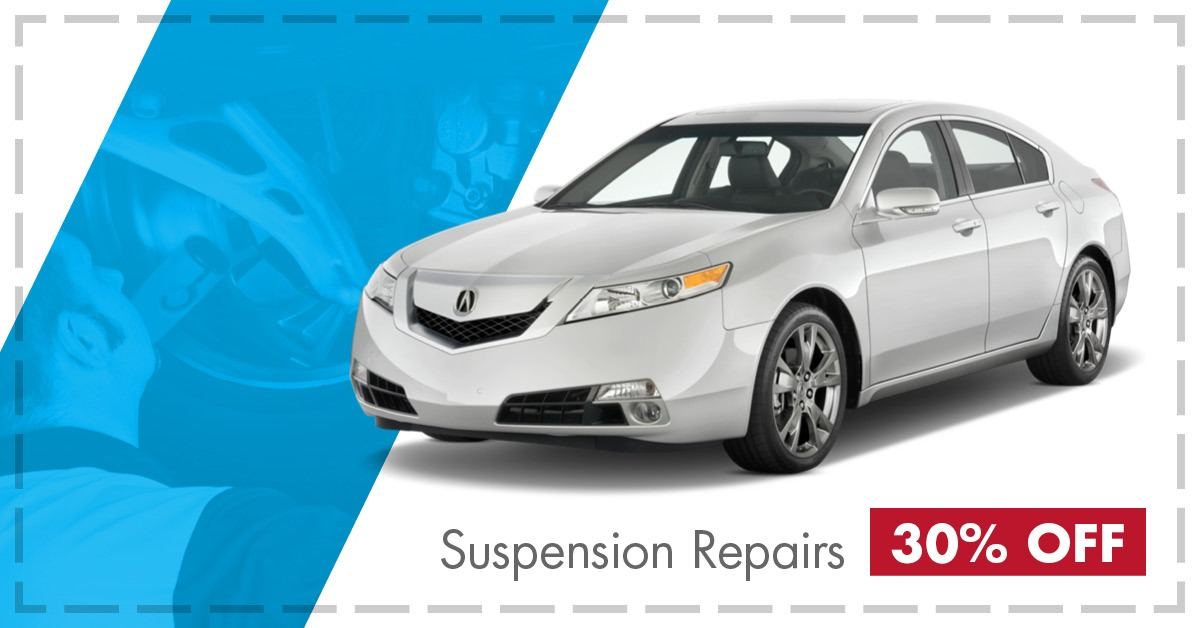 30% Off Suspension Repairs