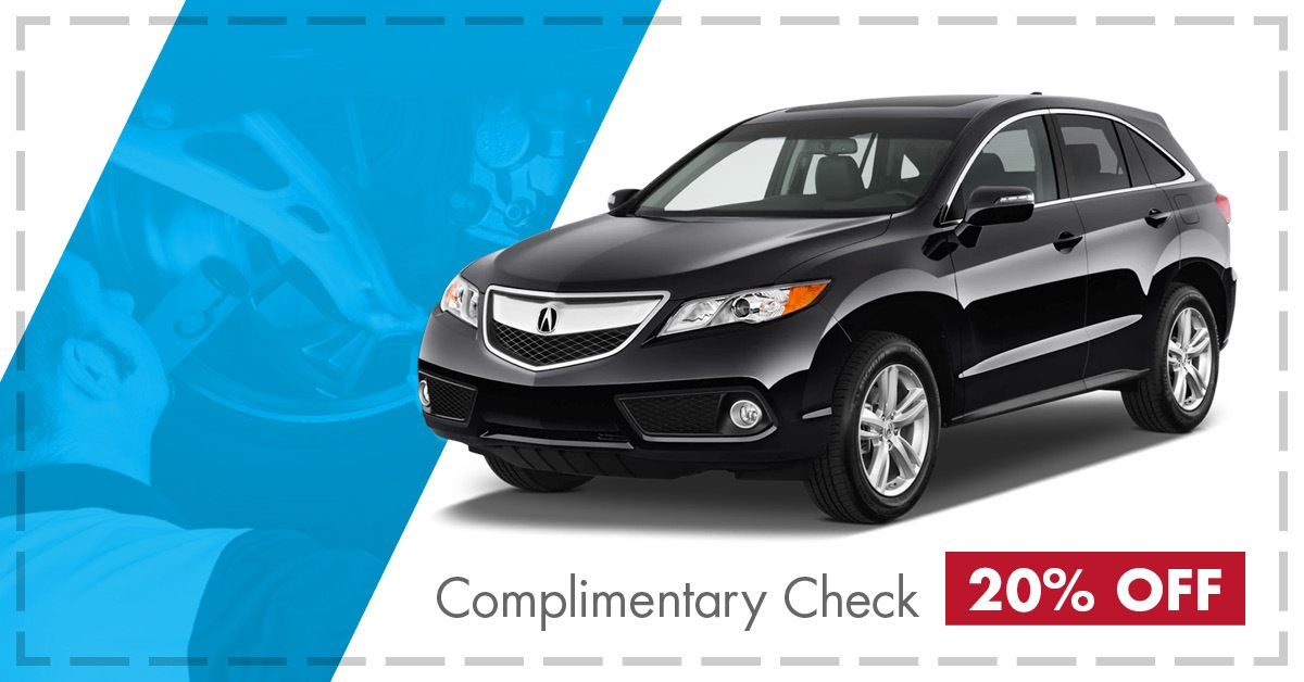 Complimentary Steering, Brake & Suspension Check
