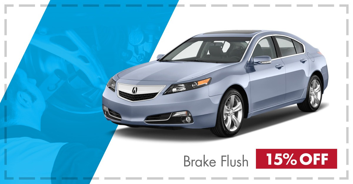 15% OFF TL Brake Flush