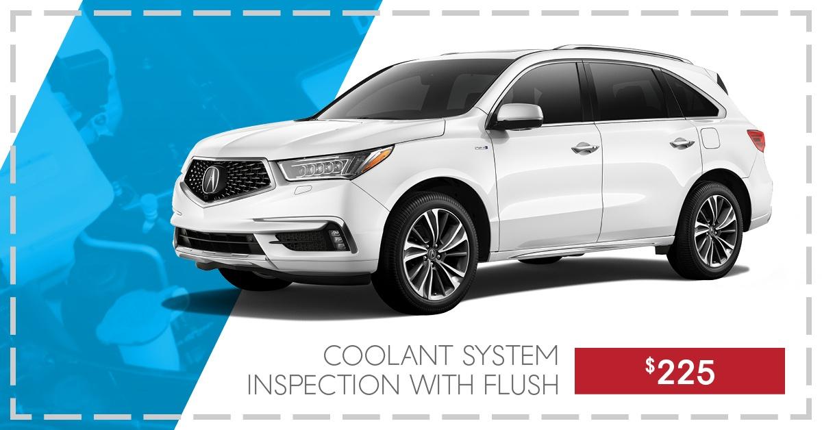 Coolant Inspection & Flush starting at $225