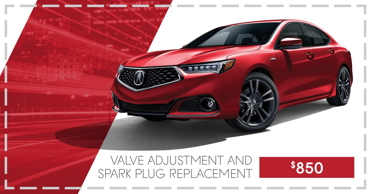 Valve Adjustment and Spark Plug Replacement $850